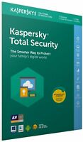 Kaspersky Total Security 2019 5 PC 1Year Download Full Version Send via Email EU