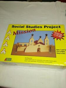 Learning Social Studies Project Model the Mission age 7-up NEW by waddle we doo