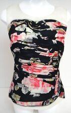 DOLCE&GABBANA D&G Designer Top size S/M pink black silk Italy 550$retail