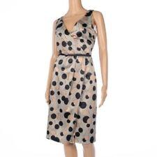 Polyester V-Neck Women's Shift Dresses