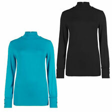 Marks and Spencer Viscose Polo Neck Tops & Shirts for Women
