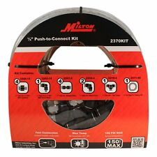 "Milton 2370KIT 50 Foot 1/2"" OD Push to Connect Tubing Kit - 13 Piece"
