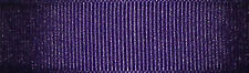40mm Berisfords Liberty Purple Grosgrain Ribbon 20m Reel