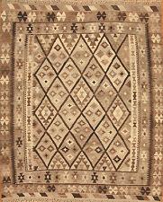 Tappeto orientale Intrecciato a mano Afghanistan Kilim Nr.3316 188x161 cm Ponte