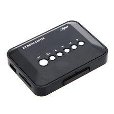 Black Multi Media Player HD 720P with AV YPbPr RM RMVB AVI MPEG USB SD/MMC YC
