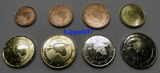 Estland setje 8 munten 2011 UNC