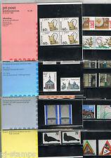 Nederland Complete jaargang 1985 PTT mapjes - 8 mapjes postprijs ƒ 17,55