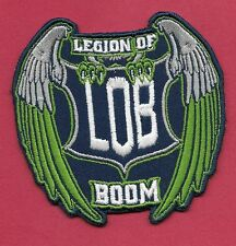 """New Seattle Seahawks Legion of Boom 3 X 3  """" Iron on Patch Free Shipping"""