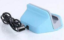 For iphone6/5c/5s Base USB Sync Data Charging Seat Stand USD Charger Dock BLUE
