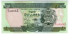 **   SALOMON  Islands     2  dollars  1997   p-18    UNC   **