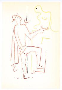 Jean Cocteau original lithograph, 1957 65787980