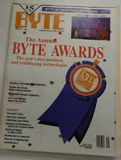 Byte Magazine The Annual Byte Awards January 1990 111314R