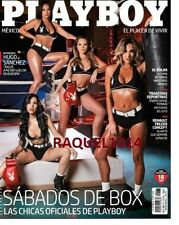 "PLAYBOY MEXICO ENERO/ JANUARY 2017 ""CHICAS DEL BOX"" PLAYBOY MEXICAN EDITION NEW"