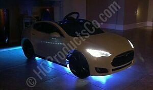 Bluetooth Controlled 14 inch LED Light Kit For Kids Electric Cars