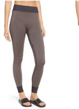 Ivy Park Fishnet Seamless Leggings- S/M  BLACK/BEIGE