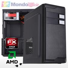 PC Computer Desktop AMD FX 6300 X6 3,50 Ghz 6 Core - Ram 8 GB DDR3 - HD 2 TB