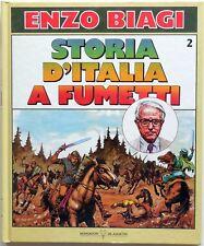 ENZO BIAGI STORIA D'ITALIA A FUMETTI N.2 DEAGOSTINI 1988