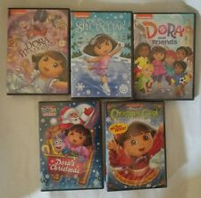 New Sealed Dora the Explorer: Dora's Christmas...5 DVD Gift Bundle Set