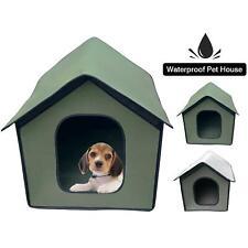 Outdoor Waterproof Dog Pet House Bed Tent Cat Indoor Folding Portable Teepee