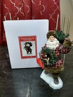 Dept 56 Possible Dreams Clothtique Woodsman's Gifts #6003844 Santa Claus