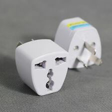 1P UK US EU Universal to AU AC Power Socket Adapter Plug Travel Converter 3 Pin