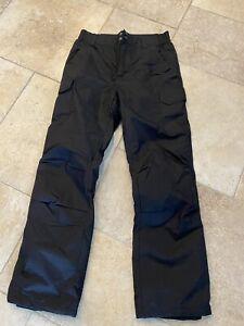 Men's black Boulder Gear ski pants size small adjustable waist