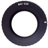 Adattatore M42-EF fotocamera macchina fotografica fuoco obiettivo Canon EOS
