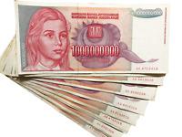 Yugoslavia 1 Billion Dinara 1993 Circulated Banknote Currency Money Cash Bill