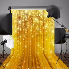 5x7FT Gold Glitter Studio Photography Background Backdrop Photo Props Waterproof