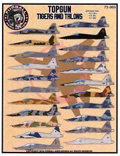 Furball Decals 1/72 TOP GUN TIGERS & TALONS AGGRESSOR F-5E, F-5F, & T-38