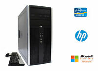 HP 8300 Elite Desktop PC Intel Quad Core i7 3.4GHz 16GB RAM 1TB HD NVIDIA Win 10