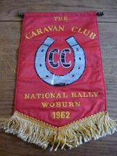 CARAVAN CLUB NATIONAL RALLY, WOBURN, 1962 PENNANT