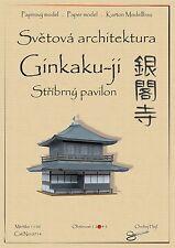 Japanese Castle Ginkaku-ji Silver Pavilion world asian architecture paper model