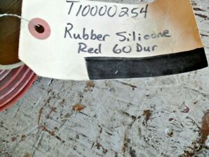 """Silicone Rubber Sheet High Temp Red/Orange Commercial 38""""x36""""x1/16""""x 60 Dur"""