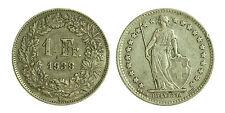 pci1861) Svizzera  Switzerland  Helvetia -  1 Franco  1939 Toned
