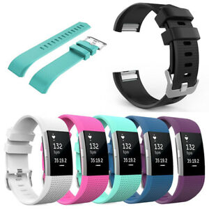 Adjustable Replacement Soft Silicone Sport Strap Belt For Fitbit Charge 2 Bands