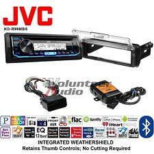 JVC KD-R99MBS Marine Radio Stereo CD Player Install Mounting Kit Bluetooth