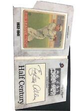 1933 Goudey Big League Historic Autographs Ethan Allen RC St Louis Cardinals