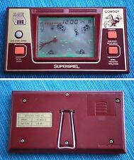COWBOY Game & Watch (MORIOKA TOKEI, Spiel & Uhr). Japan for German Market, RARE!