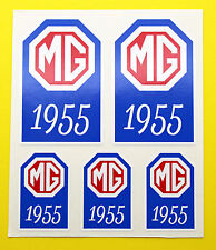 MG 1955-1962 MGA MAGNETTE ZA ZB Year Date stickers decals INSIDE GLASS
