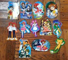 Cardcaptors 12 Piece Sticker Set English Version Of Japanese Cardcaptor Sakura