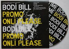 Bodi Bill Next Time 2008 Adv Cardcover CD Indie Electronic