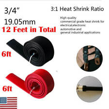 New Listing12ft Dual Wall 31 Adhesive Lined Heat Shrink Tubing Marine Cable Sleeve 34