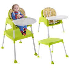 3 IN 1 Kinderhochstuhl Multi Kombihochstuhl Babyhochstuhl Tisch Babyhochstuhl