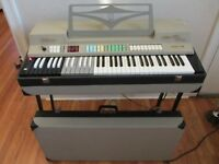 Vintage 1960s Farfisa Compact Deluxe Combo Organ Made in Italy