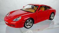 Vintage Burago 1999 Porsche Carrera 911 Coupè 1:18 996 Collectible Toy Model Car