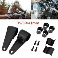 35/39/41mm Motorcycle Headlight Mount Bracket Fork Ear Aluminum For Cafe NU