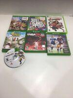 Xbox One Xbox 360 Xbox Game Lot - 7 Games