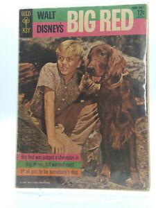 Walt Disney's BIG RED 1962 Gold Key Comics FR/GD Free Shipping