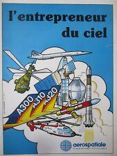 4/1983 PUB AEROSPATIALE CONCORDE AIRBUS SUPER PUMA ARIANE SYLDA EXOCET FRENCH AD